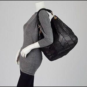 MIU MIU Quilted Chevron Hobo Bag